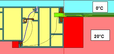 12mm ısı bariyerli pencere kesidi